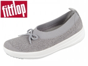 fitflop Uberknit Ballerina with Bow K77 charcoal