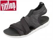 fitflop Uberknit Back-Strap Sandal L29-546 black grey