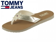 Tommy Hilfiger Glitter Beach  Sandal EN0EN00065-708 light gold
