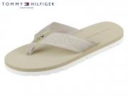 Tommy Hilfiger Essential Beach Sandal FW0FW02365-068 cobblestone