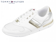 Tommy Hilfiger Light Weight Leather Sneaker FW0FW02805-100 white