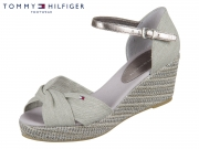 Tommy Hilfiger Ionic Elba Metallic Canvas FW0FW02824-004 light grey