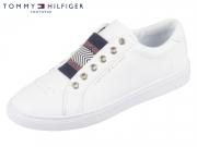 Tommy Hilfiger Metallic Elastc Sneaker FW0FW02828-100 white