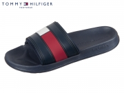 Tommy Hilfiger Flag Pool Slide FM0FM01006-020 RWB