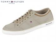 Tommy Hilfiger Core Material Mix Sneaker FM0FM01332-068 cobblestone
