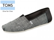 TOMS 10011577 black Chambray