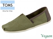 TOMS Classic 10009900 olive Wash Canvas