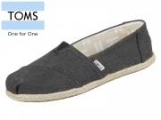 TOMS Classic 10009751 black Wash Canvas