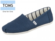 TOMS Classic 10011671 blue Wash Canvas