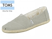 TOMS Classic 10009754 grey Washed Canvas