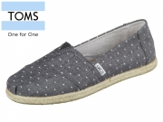TOMS Classic 10011653 black Chambray