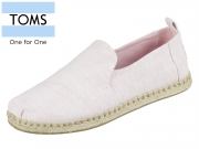 TOMS Deconstructed Alpargata Rope 10011726 pink Chambray