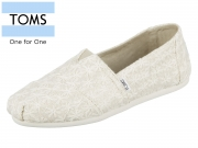 TOMS Classic 10011656 natural Natural Daisy