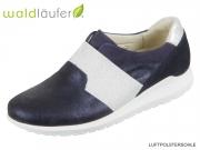 Waldläufer Hanu 982501 400 194 notte blue silber Glitter Nubuk
