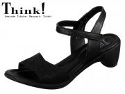 Think! Niah 82540-00 schwarz Laser Wax Sheep veg
