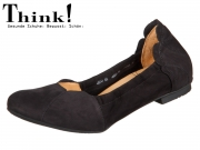Think! BALLA 88160-00 schwarz Calf Nubuk