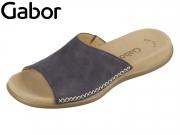 Gabor 03.705-16 nightblue Nubuk lavato