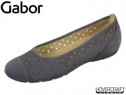 Gabor 84.169-16 nightblue Nubuk Lavato