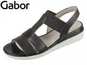 Gabor 85.501.27 schwarz Foulardcalf