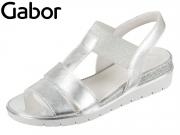 Gabor 85.501.61 silber Lamina