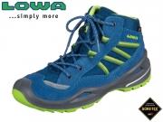 Lowa Simon II GTX 640231 6003-650231-660231 blau-linome Leder-Textil