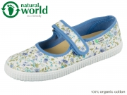 natural world W56001-90 lavanda organic cotton