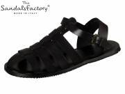 The sandals factory M5047 ne nero Vacchetta