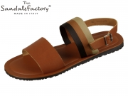 The sandals factory 7263 cuoio Vacchetta