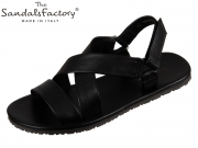The sandals factory 6527 nero Vitello