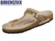Birkenstock Gizeh 1005674 metallic stones copper Birkflor