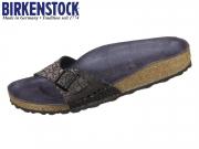 Birkenstock Madrid 1008804 metallic stones black Birkoflor