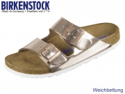 Birkenstock Arizona WB 952093 copper Metallic Leder