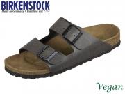 Birkenstock Arizona 1009367 anthracite Birkoflor Pull Up Vegan