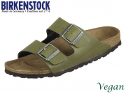 Birkenstock Arizona 1009983 olive Birkoflor Pull Up Vegan