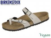 Birkenstock Mayari 1009990 stone Birkoflor PullUp Vegan