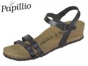 Papillio Lana 1009823 black Naturleder