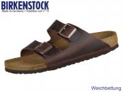 Birkenstock Arizona WB 452763 habana Nubuk Oiled