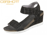 CA SHOTT 15045-590 black Croco Suede