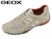 Geox Uomo Snake U4207K-02214-C0845 beige dk. orange Camoscio Mesh