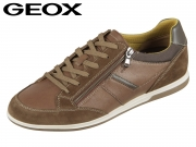 Geox Renan U824GC0ME22C6N6G cognac brown Scamoscio