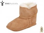 EMU Australia Baby Bootie B10310 chestnut Australian Sheepskin