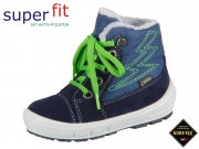 SuperFit GROOVY 3-09306-80 blau grün Velour Textil