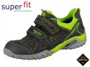 superfit Sport4 3-09225-20 grau grün Velour Tecno Textil