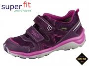 SuperFit SPORT5 3-09240-90 lila rosa Velour Tecno Textil