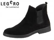 Legero 3-00865-02 schwarz Velour