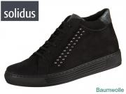 Solidus Kaja 32010-00823 schwarz anthrazit Nubuk Luke