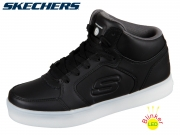 Skechers Energy Lights 90600I BLK black Textil