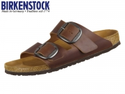 Birkenstock Arizona Big Buckle 1012207 cognac Fettleder