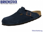 Birkenstock Boston 1012371 navy Velour