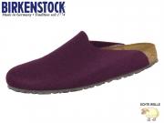 Birkenstock Amsterdam 1011792 aubergine Doubleface